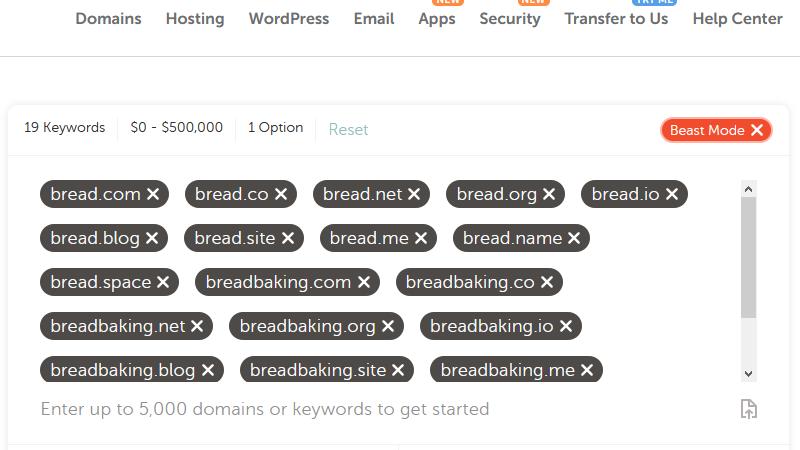 find domain name 5000 domain name ideas